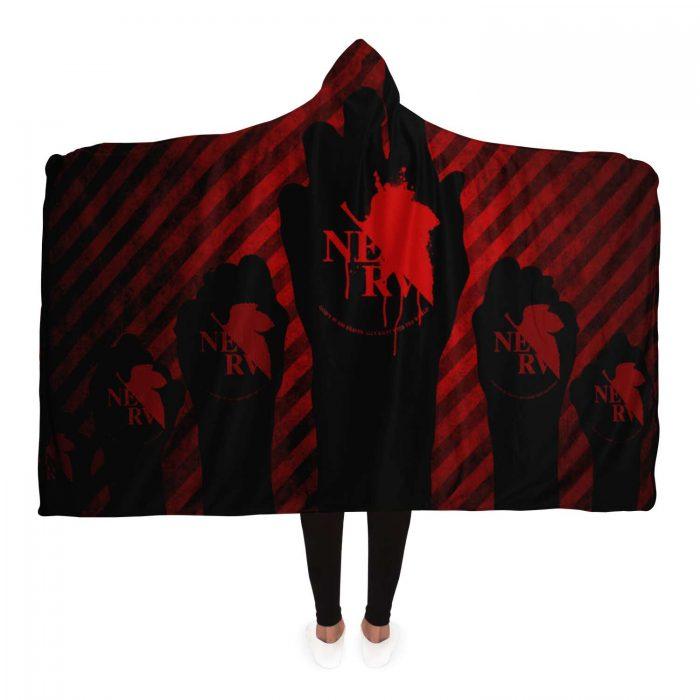 Evangelion Asuka Hentai Hooded Blanket - Evangelion