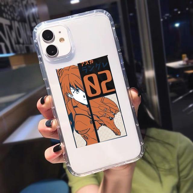 Evangelion Phone Case Soft TPU Cover - Evangelion Merchandise